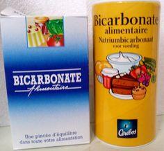 BICARBONATE DE SOUDE Le bicarbonate de sodium ou hydrogénocarbonate de sodium en nomenclature moderne, est un composé chimique inorganique décrit par la formule brute NaHCO3. C'est un composé ionique blanc de l'anion hydrogénocarbonate et du cation sodium,...