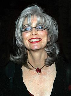 Emmylou rocks her silver hair! I doubt I will ever be this gray but wow I'd love this shade!!