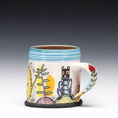 Schaller Gallery : Artist : Michael Corney : Mug
