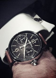 No suit is complete without a good watch. (And french cuffs are where it's at.)