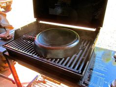 How To Cure Cast Iron Pans On A Gas Grill