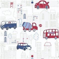 279325-Arthouse-Opera-Fun-Motor-Mania-Blue-Motif-Wallpaper