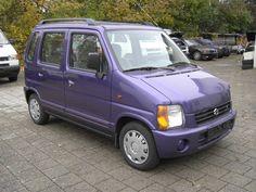 Purple Suzuki Wagon R for my mother