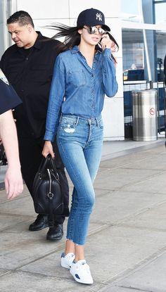 7. Kendall Jenner Traveling