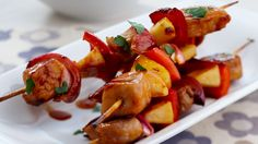 Pork and apple kebabs for $9 recipe - 9Kitchen