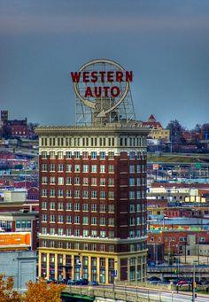 Western Auto Building, Kansas City - JPG Photos