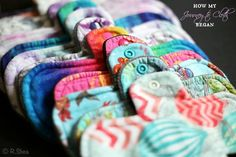 Read about how one woman's journey to cloth menstrual pads began.