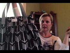 Designer Cotton Canvas Diaper Bag Description