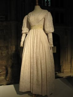 Sophy Hutton's wedding dress from the movie Cranford.