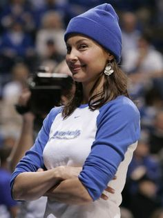 Ashley Judd born in Kentucky...went to the University of Ky.