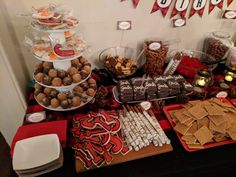Dessert table birthday for child Oliver Tate, Dessert Table, Woodland, Child, Birthday, Desserts, Outdoor, Tailgate Desserts, Outdoors