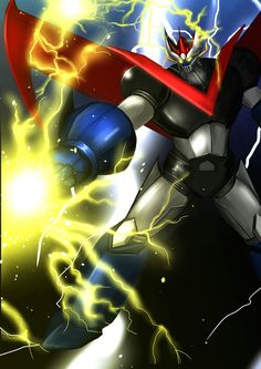 Great Mazinger by Cryman