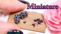 how to: miniature purple grapes