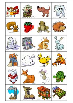 "La classe de Laurène : images du jeu ""Je commence par"" French Kids, Kindergarten Rocks, Phonological Awareness, Teaching French, Learn French, Speech And Language, Learn To Read, Special Education, Kids Learning"