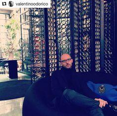 Valentino Odorico e la sua Blue Bouble