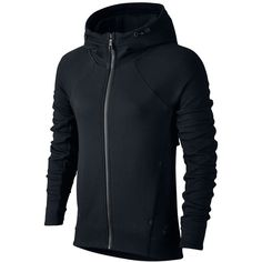 Nike Tech Fleece Zip Hoodie ( 120) ❤ liked on Polyvore featuring tops a0eaef3c1b