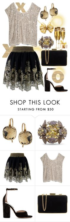 Special Night XO by ellary-branden on Polyvore featuring MANGO, Chicwish, Marc Jacobs, MICHAEL Michael Kors, Van Cleef & Arpels, Anabela Chan and Swarovski