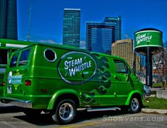 custom g10 chevy vans | Steam Whistle Brewery Dodge, Chevy Van 50th.