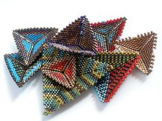 Contemporary Geometric Beadwork Book Pre-Order - image copyright © Jean Power