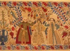Greek Textiles in the Benaki Museum, Athens Benaki Museum, Greek Design, Some Image, Crete, Islamic Art, 17th Century, Athens, Fabric Crafts, Folk Art