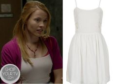 Shop Your Tv: Switched at Birth: Season 2 Episode 14 Daphne's White Crochet Side Dress