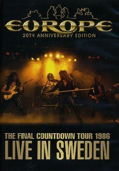 Europe - The Final Coutdown Tour 1986 - Live In Sweden