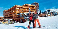 Wintersport aan de piste in Plagne Centre: Résidence Le Pelvoux