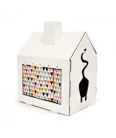#Miahouse #cat #house #cardboard