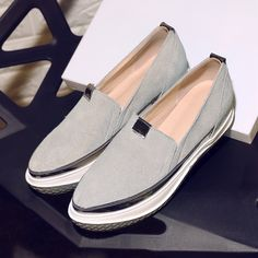 Chiko Jolie Slip On Fashion Sneakers feature round toe, metallic trimmed upper, two tone sneaker rubber sole, easy slip on and off.