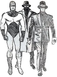 — Scorpion sketches by Alex Toth