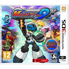 Mighty No.9 3DS Game   http://gamesactions.com shares #new #latest #videogames #games for #pc #psp #ps3 #wii #xbox #nintendo #3ds