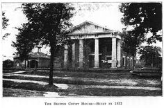 Warren County 2nd Courthouse built 1853