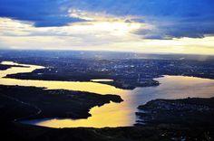* Lago Paranoá *  Brasília, Brasil.