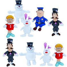 Frosty the Snowman Medium Plush Mix 48 ct