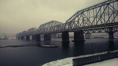 #Krasnoyarsk#train#bridge#myphoto