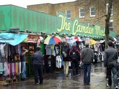 Camden Market - Buck Street