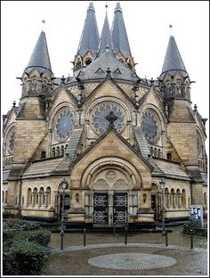 Protestant church / ev. Ringkirche Wiesbaden, Germany