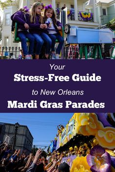 Mardi Gras parades in New Orleans are SO. MUCH. FUN!!  Learn about throws, ladders and neutral ground, and get practical advice for a stress-free outing.