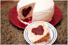 Looking for a stand-out Valentine's Day Dessert! How about a cake you can really put your heart into!