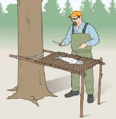 Summer Project: Build a Camp Table With Sticks and Paracord camping p. - Tracy - Summer Project: Build a Camp Table With Sticks and Paracord camping p. Summer Project: Build a Camp Table With Sticks and Paracord camping projects -