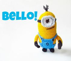 Amigurumi Despicable Me Minion - Free Crochet Pattern