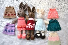 """Dear blog,When last we spoke, I fessed up to a mild infatuation with Julie Williams' Little Cotton Rabbits. I said things like, """"I just need to knit a few dresses to get it out of my sy…"""