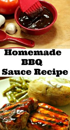 This Homemade BBQ Sauce is not only gluten & sugar free but it is delicious! Perfect for those on special diets like the Specific Carbohydrate Diet. #ad