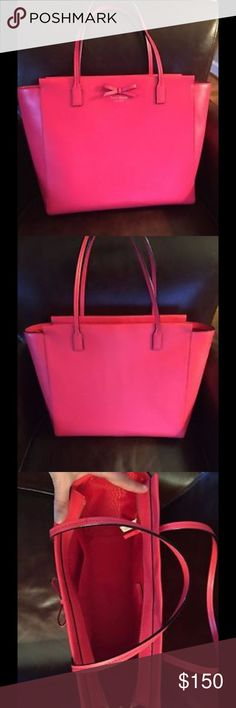 Kate Spade Sawyer Street Taden New without tags Kate Spade tote.  Geranium color. kate spade Bags Totes