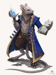 Cohorts and Companions - Ratfolk by BadInspiration.deviantart.com on @DeviantArt