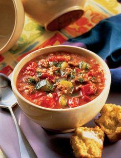 Mediterranean Soup Recipe + 9 healthy Mediterranean Recipes #soup #recipe #mediterranean