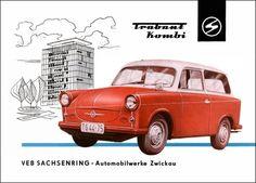 1959 Trabant P50 Brochure