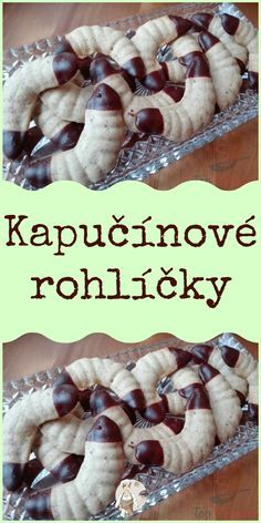Baking Recipes, Cookie Recipes, Keto Recipes, Christmas Sweets, Christmas Candy, Czech Recipes, Ethnic Recipes, Sweet Tooth, Stuffed Mushrooms