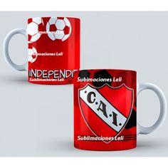 Tazas sublimadas Club Atletico Independiente personalizadas Sublimaciones Leli  Característica:  Club Independiente Excelente Calidad Irrompibles Tazas de Polimero