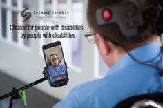 """About Sesame: Serendipity Brought Them Together. Purpose Kept Them Going. Oded Ben Dov was demonstrating a game on TV that was controlled using head gestures. Giora Livne, a former Navy Commander who is a quadriplegic, called him up the next day said, """"Hello, I can't move."""""""